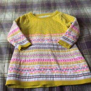 Oshkosh sweater dress 18m
